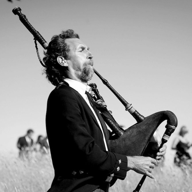San Francisco Bagpiper for hire